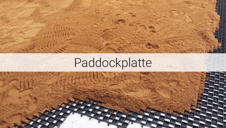 Paddockplatten von Spectrum sind Bodenplatten aus Kunststoff.